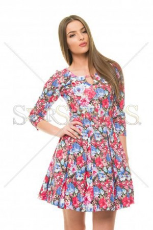 Rochie StarShinerS Colorful Red