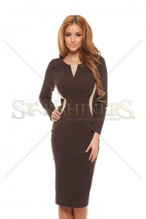 Rochie StarShinerS Daily DarkBrown