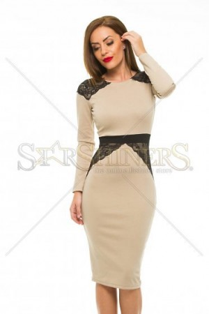 Rochie StarShinerS Distinction Cream