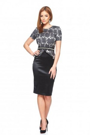 Rochie StarShinerS Distinguish Lady Black