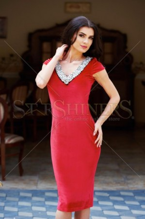 Rochie StarShinerS Famous Look Red