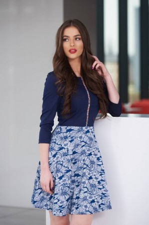 Rochie StarShinerS Illusion Blue