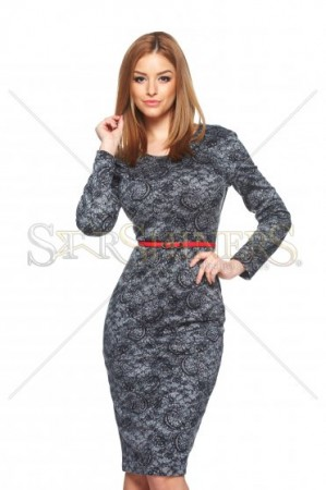 Rochie StarShinerS Imagination Grey