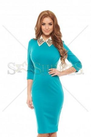 Rochie StarShinerS Inspiring Turquoise