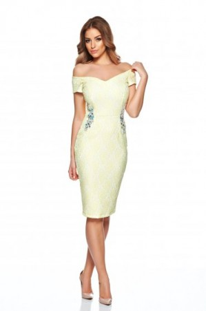 Rochie StarShinerS Princess Look Yellow