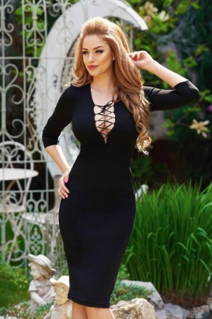 Rochie StarShinerS Provocative Black