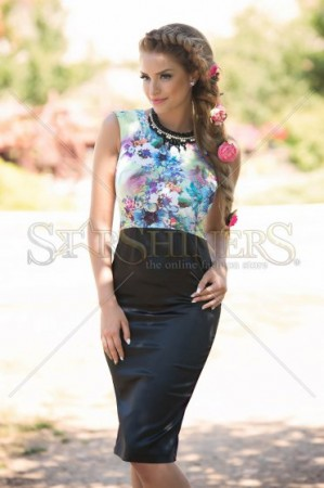Rochie StarShinerS Royalty Green