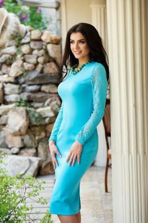 Rochie StarShinerS Splendor Turquoise