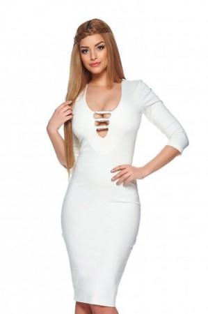 Rochie StarShinerS Star Diva White
