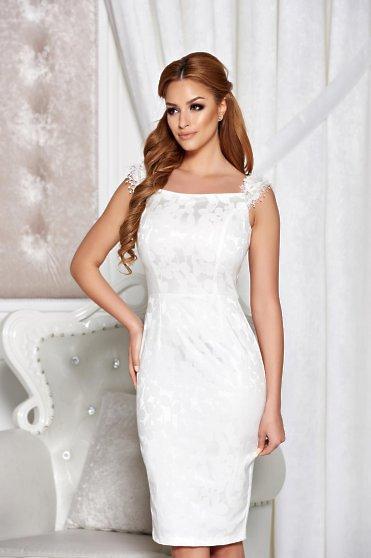 Rochie StarShinerS Stylish Day White