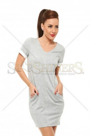 Rochie Top Secret Modern Frame Grey