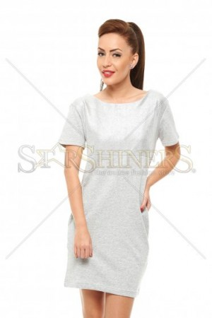 Rochie Top Secret Real Diva Grey