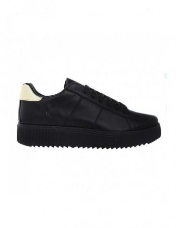 Sneakers Soju negru auriu